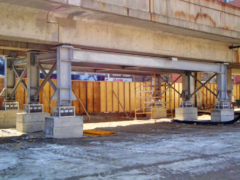Bridge Support Structure